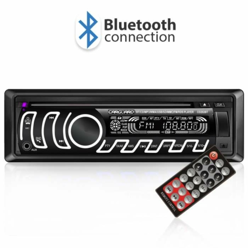CD/MP3 fejegység - Bluetooth, FM tuner, USB, SD, AUX