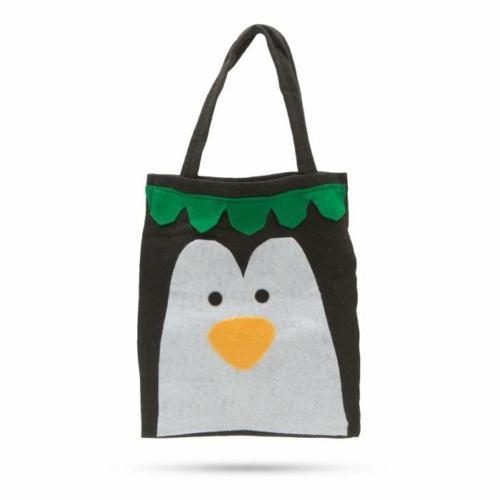 Ajándéktáska - pingvin figurás