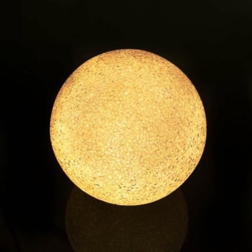 LED kristály hógolyó - 12 cm