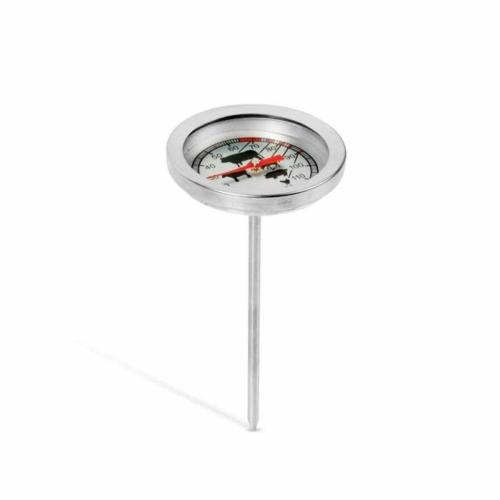 Húshőmérő - rozsdamentes acél
