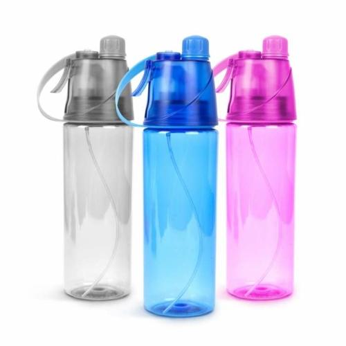 Sport kulacs, spriccelővel - 600 ml - 3 szín