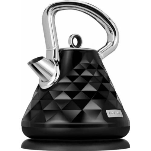 Vízforraló 1,7L 2150W fekete / rozsdamentes acél