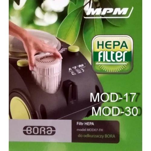 MOD-17, MOD-30 HEPA filter