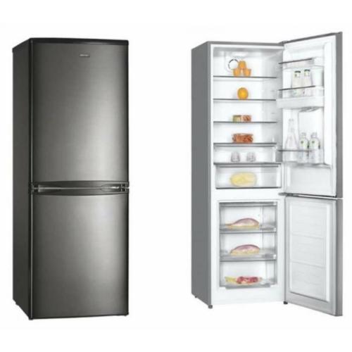 Kombinált hűtőszekrény 324L inox MPM