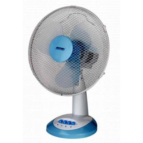 Asztali ventilátor fehér 30cm