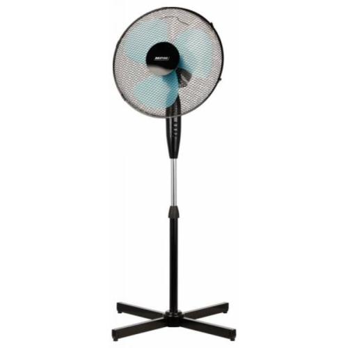 Álló ventilátor fekete 40cm